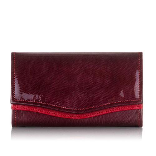 portfel damski w czerwieni